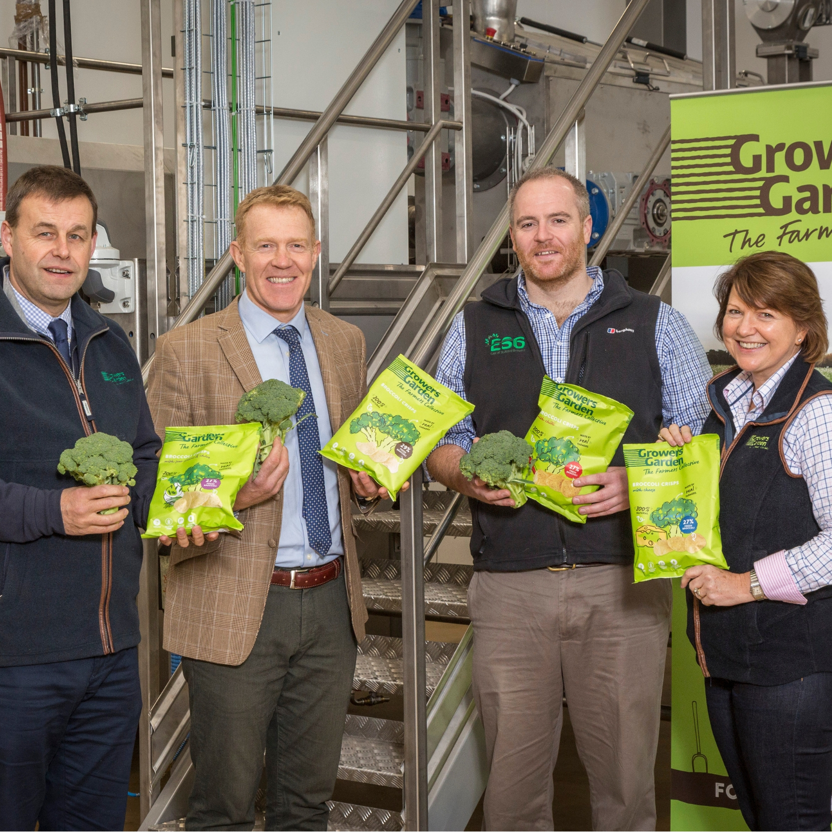 Adam Henson visits Growers Garden